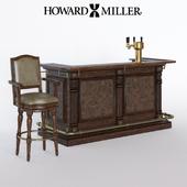Bar counter and stool