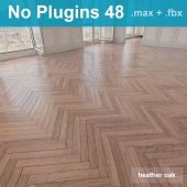 Herringbone parquet scratched 48 (without the use of plug-ins)