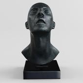Lotta Blokker head sculpture