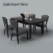 Table and chair of Galimberti Nino