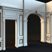 Classic wall molds 2