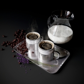 Coffee Set with milk