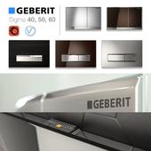 GEBERIT flush buttons 40, 50, 60
