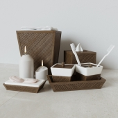 Decorative set Creative Bath, Spa Bamboo Collection