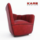 "Armchair ""Pipe"" Kare design"