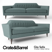 Crate and Barrel Gia sofa