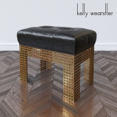 Precision bench by Kelly Wearstler