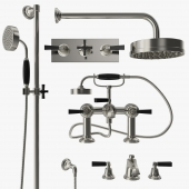 Samuel Heath - Style modern mixer, filler and shower