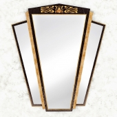 Зеркало Large Art Deco Triptych Wall Mirror