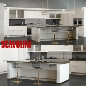 Scavolini Baccarat Kitchen White
