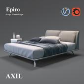 Кровать Epiro, фабрика Axil