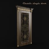 Classic single door