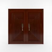 Pahudia wood door