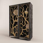 Tree Branch Display Cabinet