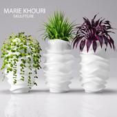 pots of sculptor Marie Khouri