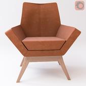 Armchair Pixie Orange