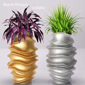 pots of sculptor Marie Khouri. G & S