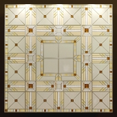 Tiffany stained glass ceiling