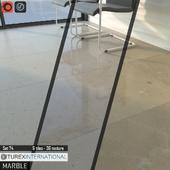TUREX INTERNATIONAL Marble Tiles Set 74