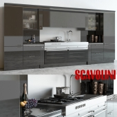 Scavolini Baccarat Kitchen Black