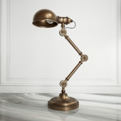 LOFT CONCEPT_TABLE LAMP BRASS STEAMPUNK