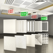 Suspended Ceiling Panels & Signage