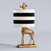 The Emily & Meritt Giraffe Complete Lamp