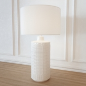 Table lamp POTTERYBARN Jamie Young Emma Ceramic Column Table Lamp