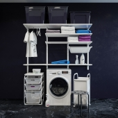 IKEA Альгот система хранения /стиральная машина/Полотенца