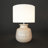 table lamp Jamie Young Emma Ceramic Round Table Lamp