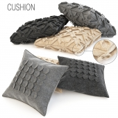 Wool cushions set