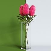 IKEA Цветок искусственный СМИККА