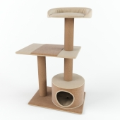 PetPals Group 3 Level Playhouse Condo Cat Tree