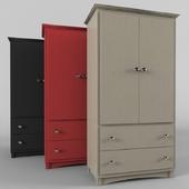Sonoma Armoire Wooden Wardrobe Storage