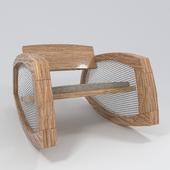 Design chair - rocking chair