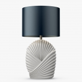 Talisman London - White ceramic lamp