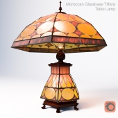 Classic Floyd Light 12inch Tiffany Table Lamp