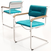 Thonet S 34 N with cushion