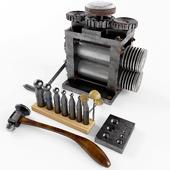 набор инструментов ювелира