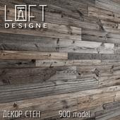 Деревянный декор стен от Loftdesign