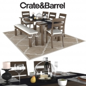 Crate and barrel Basque