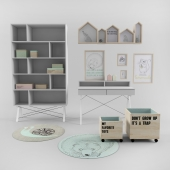 Accesory by Bloomingville and Furniture by Minko