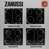 Set embedded induction cookers from Zanussi