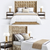 Mitchell Beige bedroom