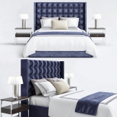 Mitchell Blue bedroom