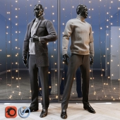 Male mannequin set 2