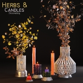 Herbs&Candles / Dried flowers