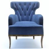 Armchair blue