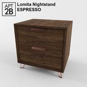 Lomita Nightstand Espresso