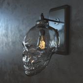 Бра Череп Glass Skull